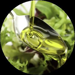 Löffel mit Arganöl